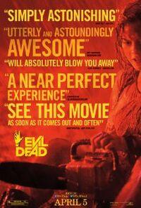 Evil dead 2013 poster