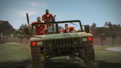 Zombie Jeep