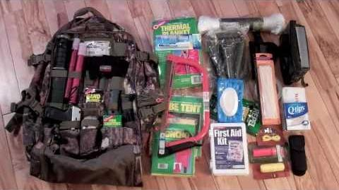 Bug Out Bag, Get Home Bag, Survival Bag My first attempt at a BOB