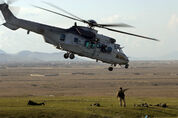 French Army Cougar helicopter- Afghanistan