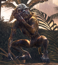 Зомби-обезьяна в Call of Duty