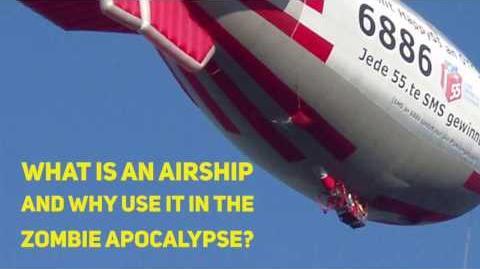 Zombie Apocalypse Airship