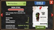 Iron Steel zombie