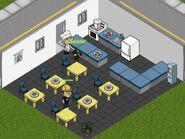 Enemy Café interior