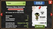 Female Hula Dancer zombie