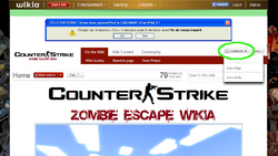 Zewikia guide createpage contributebutton