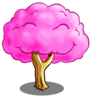 Cotton Candy Tree