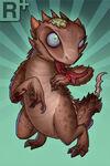 Horned Lizard+