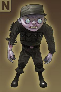 Modern Military Soldier
