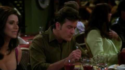 Two and a half men - Charlie's thoughts