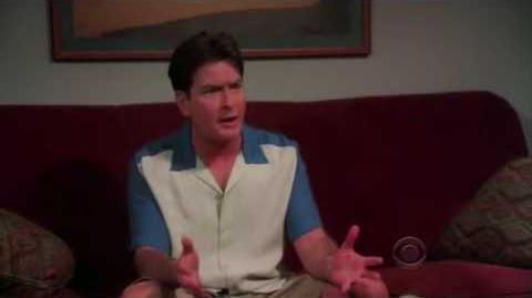 Two and a Half Men - Charlie at the Shrink