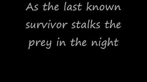 Eye of the tiger -Lyrics-