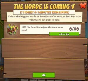 The Horde is Coming V