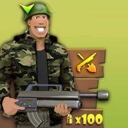 Hombre con Rifle de Asalto