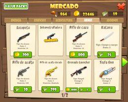 Weapon mercado