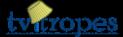 Lampshade logo blue