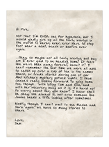 S08E30 Letter