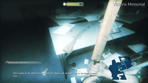 ZOMBI Localização da carabina Mk1.
