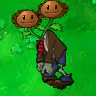 Twin Sunflower Zombie Stealer