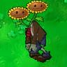 Twin Sunflower Zombie Healer