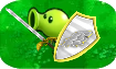 ZomBotany Imp Artemis Shield & Sword