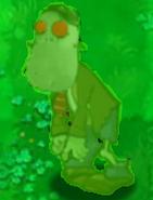 Peashooting Giga Imitater Zombie