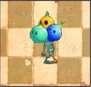 Female Bowling Bulb Zombie