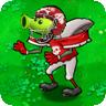 Peashooter football zombie