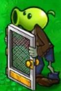 Screen Door Peashooter Zombie