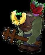 Giga Gold Magnet Zombie