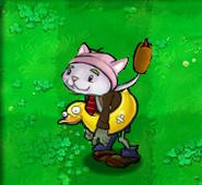 Cattail zombie