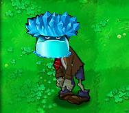 Ice-shroom zombie