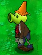 Conehead Peashooter Zombie2