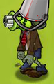 Buckethead Gatling Pea Zombie