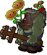 Giga Twin Sunflower