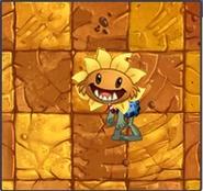 Primal Sunflower Healer Zombie