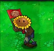 Flag Sunflower Zombie