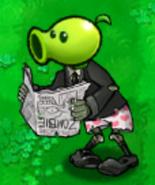 Newspaper Peashooter Zombie