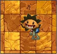 Primal Sunflower Stealer Zombie
