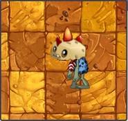 Primal Potato Mine Zombie