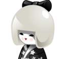 Kat's Kokeshi Doll
