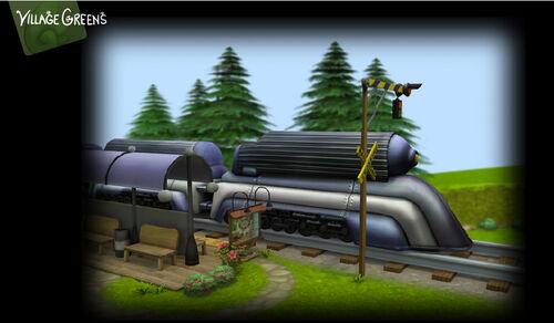 Village-Trainstation