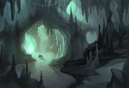 Cave mines
