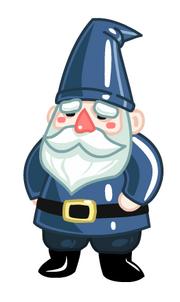 Lawn Gnome Courier