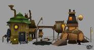 Mine factory model