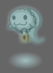 Halloween Ghost Blue