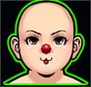 High Pierrot`s Face Lilru