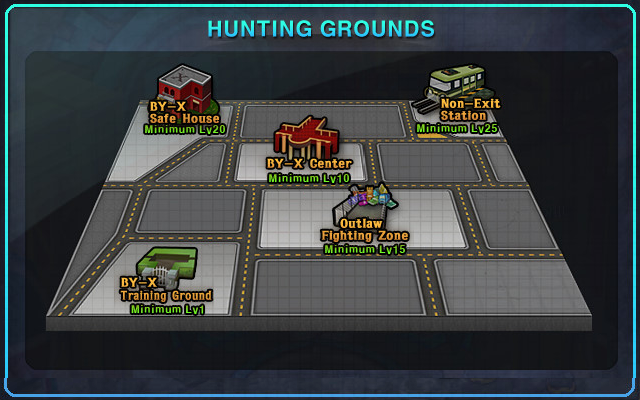 Hunting Ground Zone 6 Active