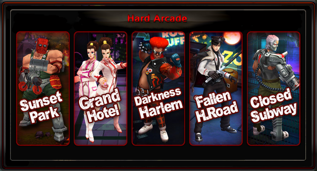 Hard Arcade Select