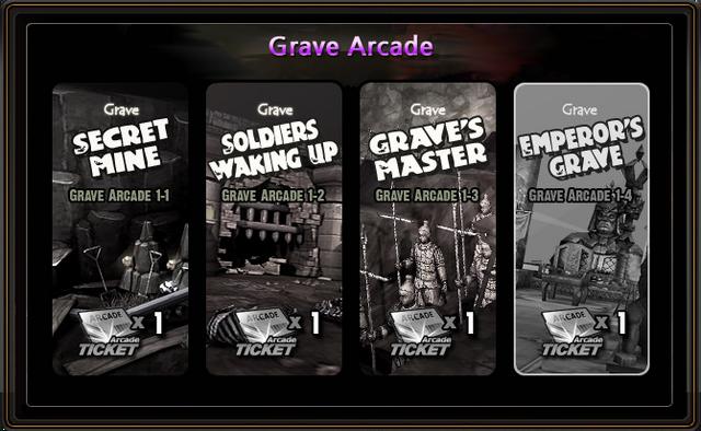 Grave Arcade Select